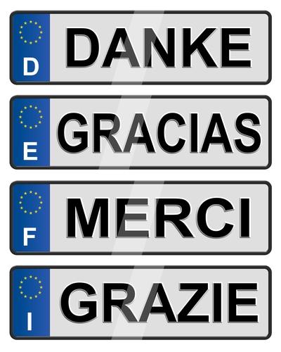 trzecia tablica rejestracyjna