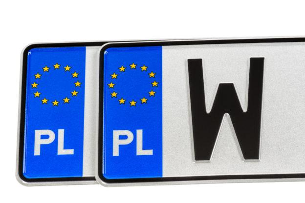 nowy wzór tablic rejestracyjnych