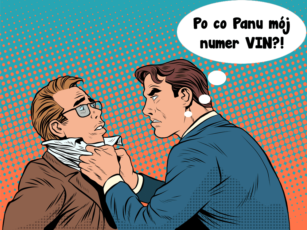 Wojna o VIN, czyli klient kontra handlarz