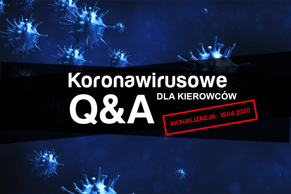 Koronawirusowe Q&A dla kierowców