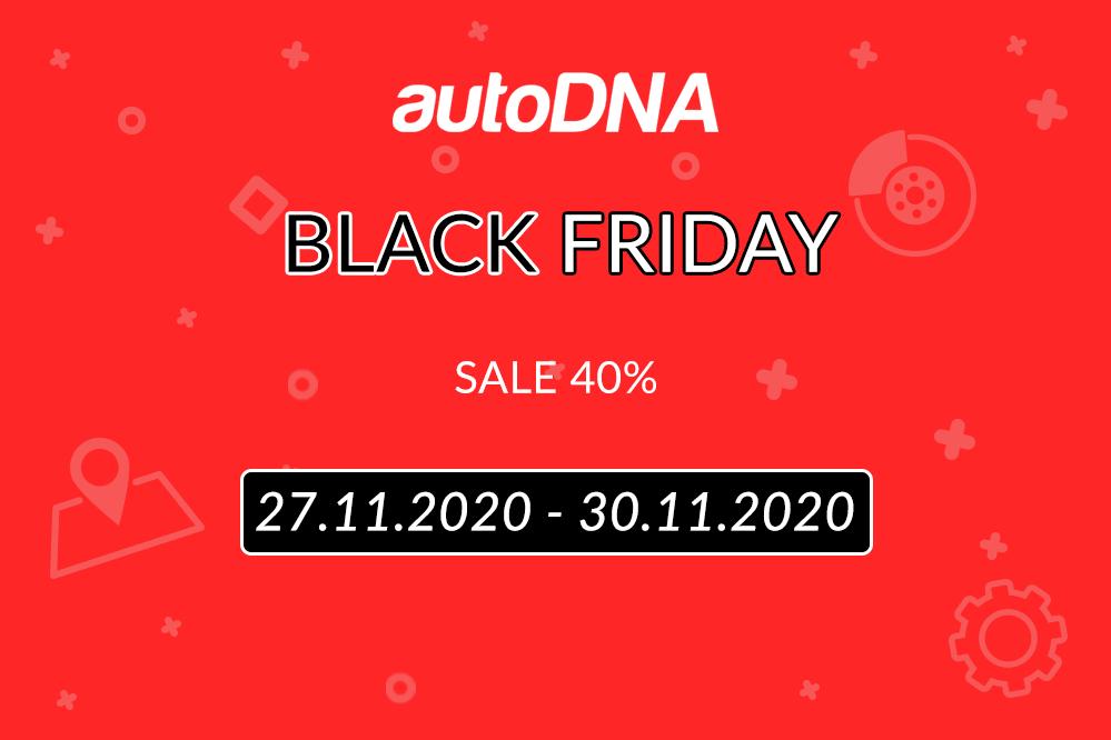 Black Friday 2020 r. w autoDNA