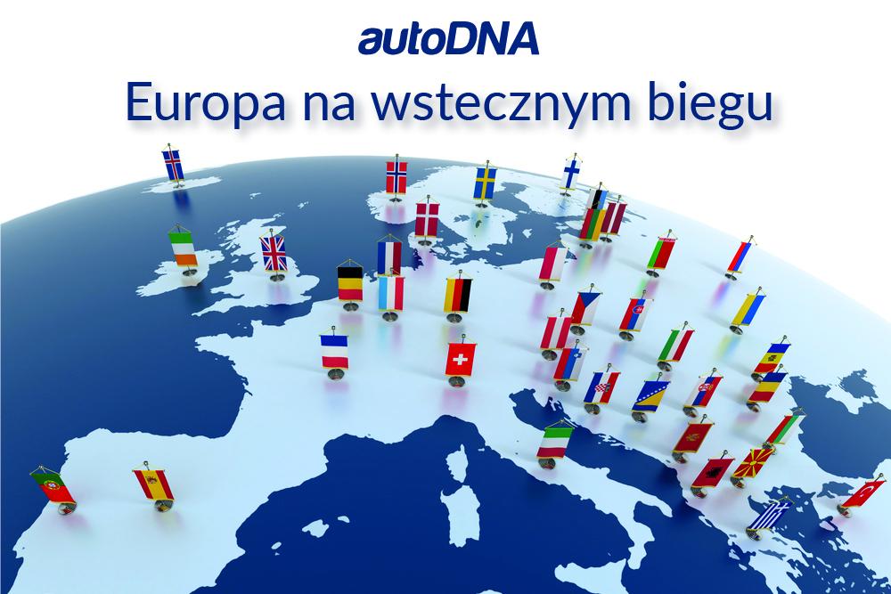 Sprzedaż aut w Europie - rok 2020