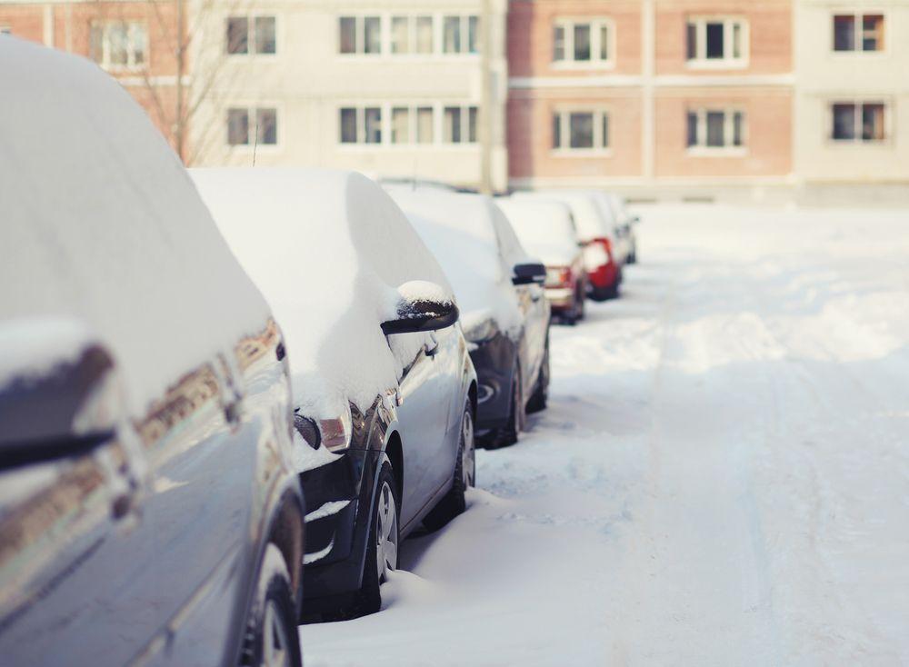 Zimowe problemy kierowców